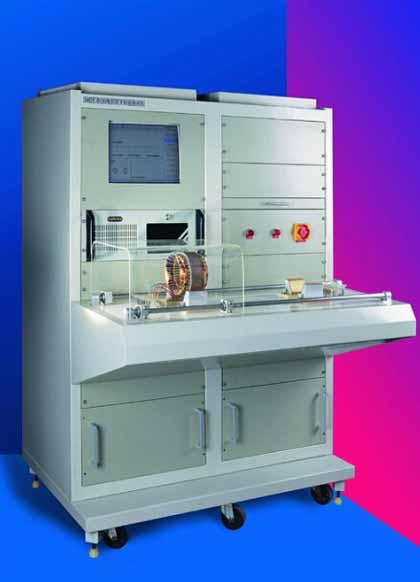 電機定子綜合測試系統